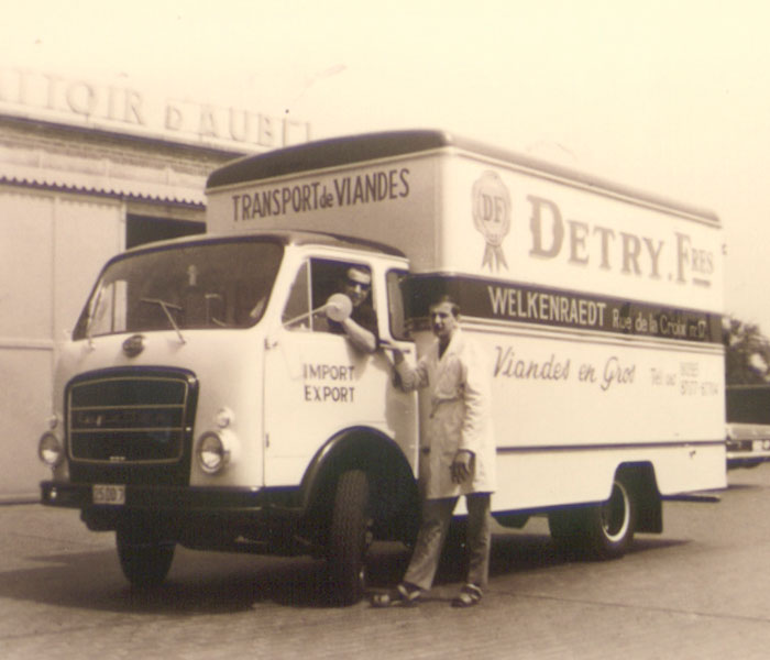 Detry camion