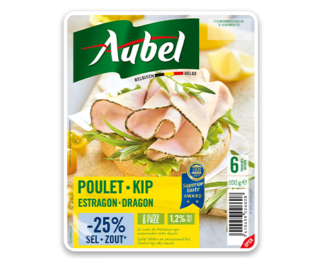 Filet de Poulet Estragon -25% sel